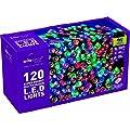 Festive 120 Low Voltage LED Lights , Multi-Colour
