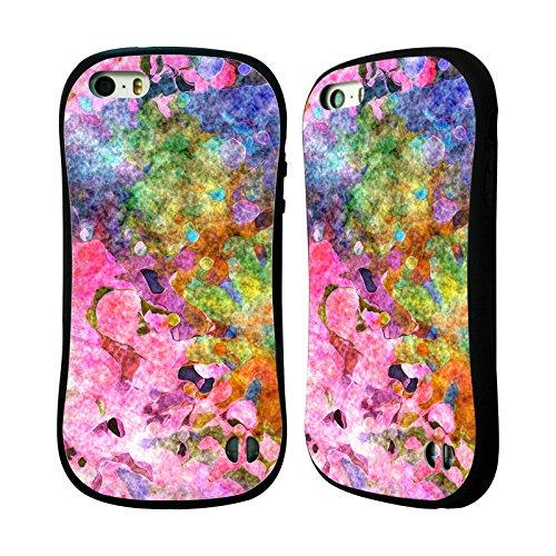 Ufficiale Shelly Bremmer Giardino Astratto Colorato Case Ibrida per Apple iPhone 7 / iPhone 8 Sinfonia