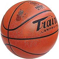 CN Baloncesto No. 6 Baloncesto Femenino PU Interior y Exterior Piso de Cemento Resistente al Desgaste Antideslizante sentirse Bien,carmesí,número 6
