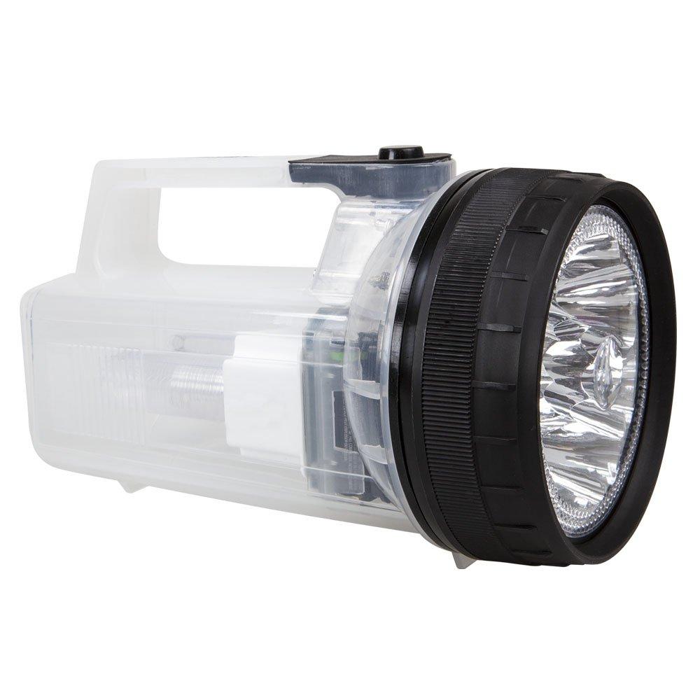 Life Gear 80�lumen faretto LED 2-in-1�torcia e lanterna, acqua e resistente agli urti, luce esterna