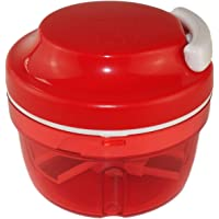 Turbo-Chef de Tupperware - Chef Speedy Boy - Coupe-oignons - Rouge - Référence : 10124