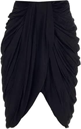 ISABEL MARANT Luxury Fashion Donna JU128121P025I01BK Nero Altri Materiali Gonna | Ss21