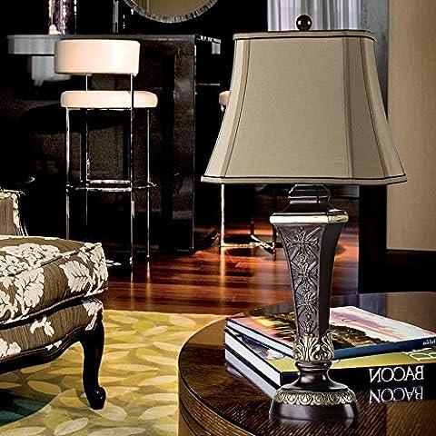 KHSKX Glamour di rustico Vintage Lampada da