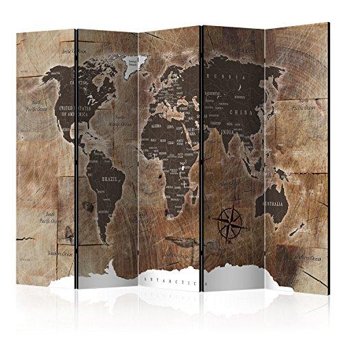 murando Paravent & Tableau daffichage en Liege: 225x172 cm Reversible Impression sur Papier intissé 100% Opaque Paravent decoratif pour Chambre Paravent en Bois avec Impression k-C-0050-z-c