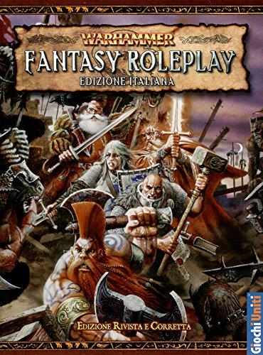 Giochi Uniti- Warhammer Fantasy Gioco di Ruolo Manuale Base, Multicolore, GU3500