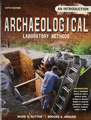 Archaeological Laboratory Methods: An Introduction by SUTTON MARK (2009-01-19)