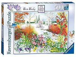 Ravensburger Garden Vistas nº 4 - Puzzle de Invierno para Invierno, 500 Piezas