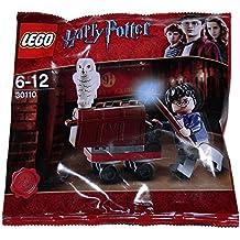LEGO Harry Potter: King's Cross Trolley Con Hedwig Búho Y Harry Minifigura Establecer 30110 (Bolsas)