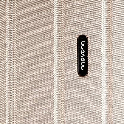 Movom Wood Maleta, 65 cm, 68 Litros, Beige