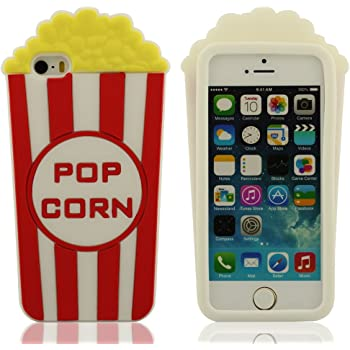 Pommes de terre frites Coque de protection Silicone Case pour Apple iPhone 5 5S: Amazon.fr: High