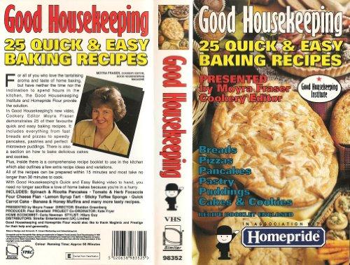 Preisvergleich Produktbild 25 Quick & Easy Recipes [VHS] [UK Import]