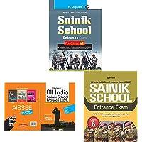 Sainik School Entrance Exam Guide for (6th) Class VI+All India Sainik School Entrance Exam. (For Class-6)+Sainik School…