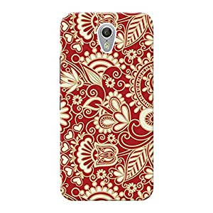 Mobile Back Cover For Lenovo ZUK Z1 (Printed Designer Case)