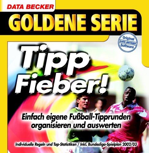Tipp-Fieber, 1 CD-ROM Einfach eigene Fußball-Tipprunden organisieren und auswerten. Für Windows NT 4, 2000, XP. Individuelle Regeln und Top-Statistiken. Inkl. Bundesliga Spielplan 2002/03