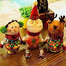 JINGXU® Décoration de Noël Bonbons de Noël Boîte Bol de Sucre de Noël (Père Noël)