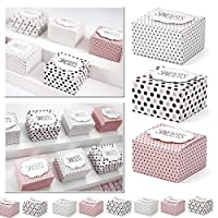 """30 x Gift Boxes-Colourful with motto """"Sweets"""" for gift boxes for guests or small presents by Kleenes Traumhandel®"""