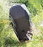 Regenwassertonne Regentonne Regenbehälter Regentank 300L 310l Wasserhahn Amphore von rg-vertrieb (300L mit Wasserhahn)
