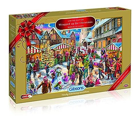 Gibsons G2017Alles für Weihnachten, 2017Limited Edition Puzzle (1000Stück)