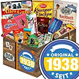 Original seit 1938 | Schokolade DDR Paket | Schokolade Geschenkset L | Maulwurf, Viba, Zetti Bambina | Geburtstagsgeschenk Mama Geschenk für Freundin Geburtstag Geschenkset Schokolade