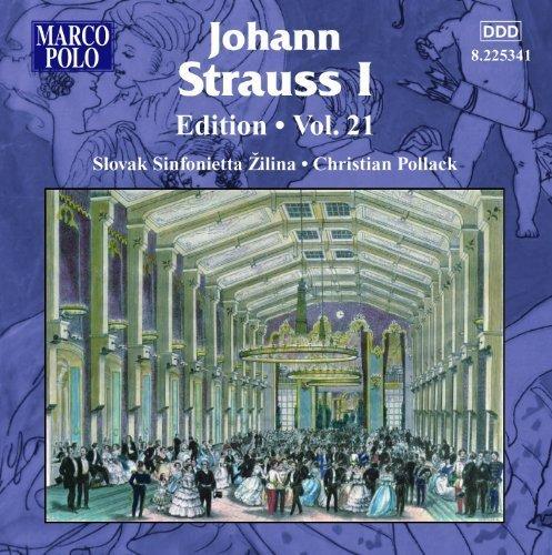 Johann Strauss Edition 21 by J. Strauss (2013-05-04) Ys Strauß