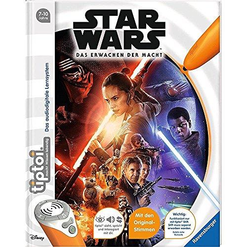 Ravensburger tiptoi ® Bücher Set – Star Wars TM Buch Episode I-VI und Episode 7 – Das Erwachen der Macht + Star Wars Sticker - 2