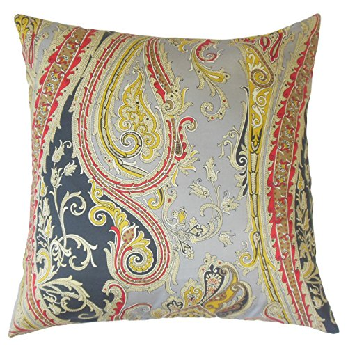 Europäische Paisley-sham (The Pillow Collection Efharis Paisley-Bettwäsche, 66 x 66 cm)