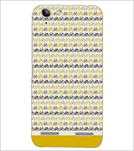 PrintDhaba Cycle Pattern D-1478 Back Case Cover for LENOVO VIBE K5 PLUS (Multi-Coloured)