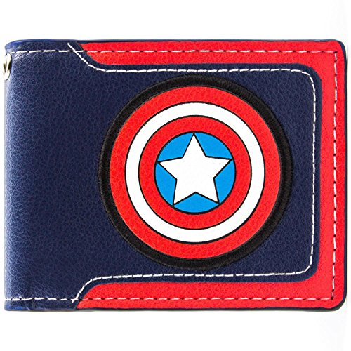 Marvel Captain America Shield Mehrfarbig Portemonnaie Geldbörse