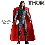 """Anokhe Collections MARVEL Exclusive 1:6 Scale """" The Mighty THOR """" Collectible Statue, 28cm"""