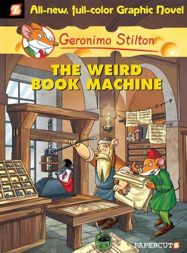 Geronimo Stilton Graphic Novels #9: The Weird Book Machine por Geronimo Stilton
