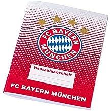 "Hausaufgabenheft Punkte + gratis Sticker "" FC Bayern München "" FCB homework folder / carpeta de tareas / dossier de devoirs"