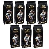 Lucaffé Mr. Exclusive 100% Arabica Ganze Bohne, 1000 g, 7er Pack (7 x 1 kg)