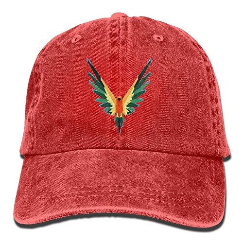 NasNew Logan Paul's Flying Brids Denim Hat Adjustable Female Surf Baseball Caps