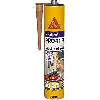 Sikaflex PRO 11 FC Purform Beige, Mastic polyuréthane PU tout en 1, mastic multi-matériaux, mastic étanche intérieur et…