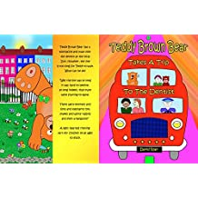 Teddy Brown Bear Takes A Trip To The Dentist (English Edition)