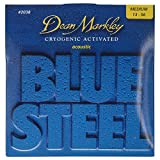Dean Markley 2038 Blue Steel Acoustic Guitar Strings 13-56 medium gauge