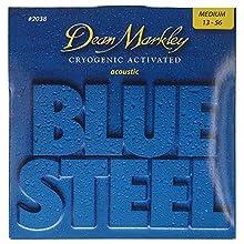 Dean Markley Blue Steel Acoustic Guitar Strings 13-56 Medium