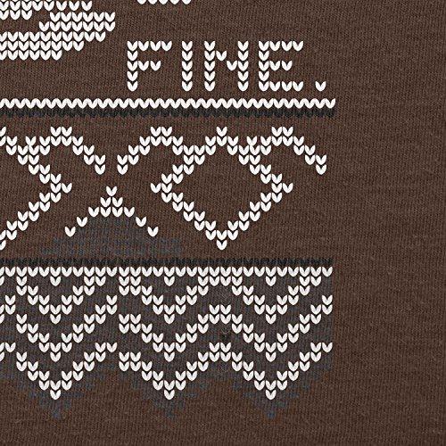 Texlab–damn fine Coffee–sacchetto di stoffa Marrone