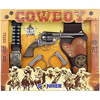 Ideal PI4950115 - Set western de sherif 4 pieces(revolver,holster,ceinture,ins