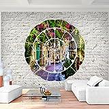 Fototapete Fenster nach Toscana Vlies Wand Tapete Wohnzimmer Schlafzimmer Büro Flur Dekoration Wandbilder XXL Moderne Wanddeko - 100% MADE IN GERMANY - Runa Tapeten 9055010b