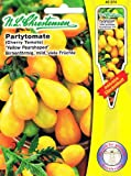 Partytomate Yellow Pearshaped Tomate Lycopersicon esculentum gelb