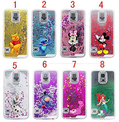 Phone Kandy® Disque Transparent Phone Case Shell Glitter étoiles étincelle avec Cartoon Minnie