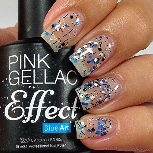 Effet Gellac Rose Bleu Art