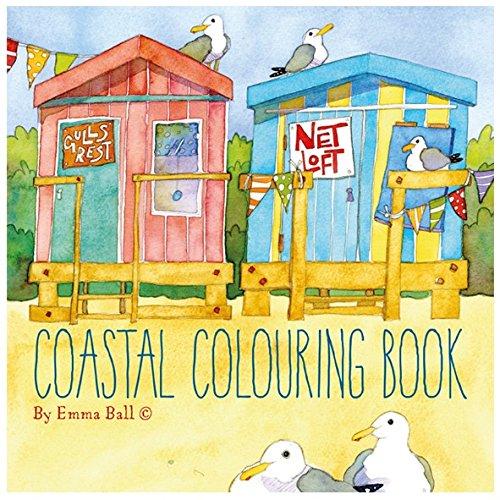 Coastal Colouring Book: 1