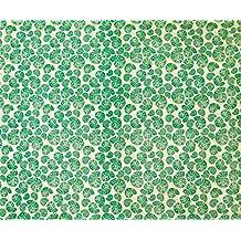 """Confección de impresión Paisley arte de costura 43 """"pulgadas Beige tela de algodón Por El Metro"""