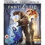 Fantastic Four [4K Ultra HD Blu-ray + Digital Copy + UV Copy] [2015] UK-Import, Sprache-Englisch.