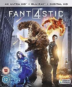 Fantastic Four [4K Ultra HD Blu-ray + Digital Copy + UV Copy] [2015]