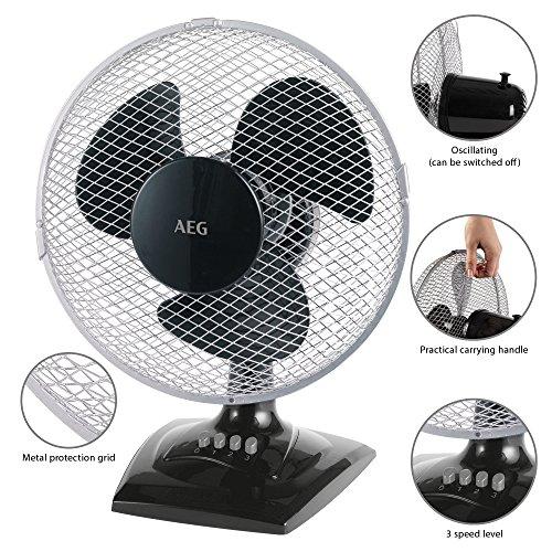 AEG VL 5529 Tisch-/ Wand-Ventilator - 2