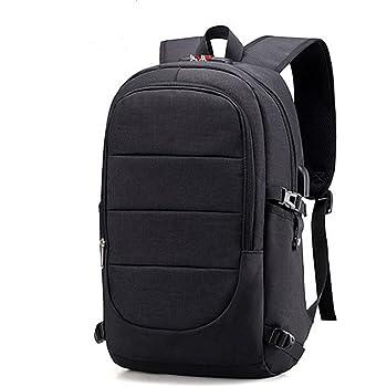 Zaino Laptop BstAmzStore 3in 1 con serratura, porta USB di ricarica, interfaccia cuffie,Zaino da viaggio per il viaggio per notebook e tablet da 12-16 pollici, tasche multifunzione Zaino Daypack
