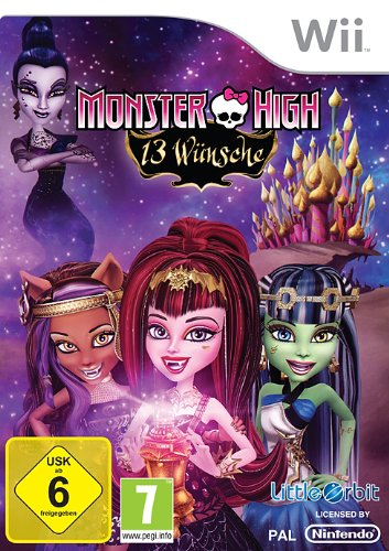 Video-spiele Wii (Monster High: 13 Wünsche)